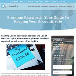 Your Guide To Keeping Your Accounts Safe