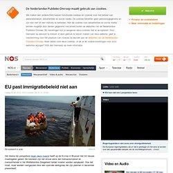 EU past immigratiebeleid niet aan