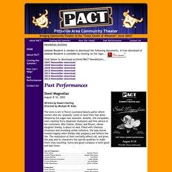 Past Performances