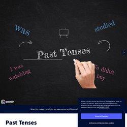 Past Tenses by liderowa on Genially