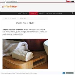 Pasta Filo o Philo - El Aderezo - Blog de Cocina