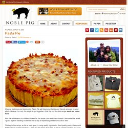 Pasta Pie - StumbleUpon
