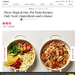 These Magical One-Pot Pasta Recipes Only Need 5 Ingredients and a Glance