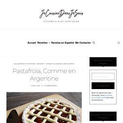 Pastafrola Comme en Argentine