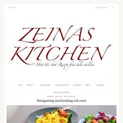 Pastagratäng med kyckling och curry - ZEINAS KITCHEN