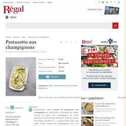 Pastasotto aux champignons : recette facile (3 étapes)
