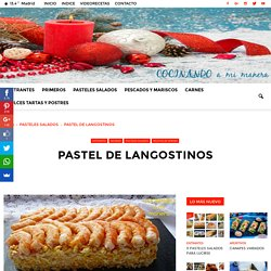 PASTEL DE LANGOSTINOS