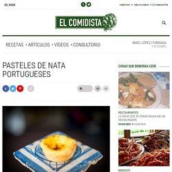 Pasteles de nata portugueses