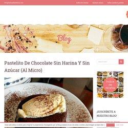 Pastelito de chocolate sin harina y sin azúcar (al micro)