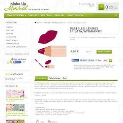 Pastello crayon à lèvres Sfilata de Neve Cosmetics - Make Up Minéral
