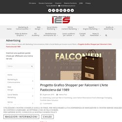 Progetto grafico Shopper Pasticceria in Franchising