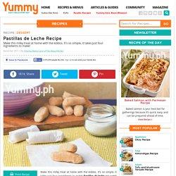Pastillas De Leche Recipe