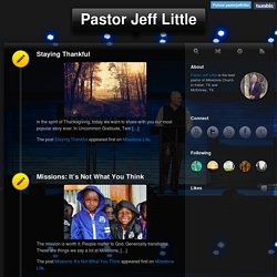 Pastor Jeff Little