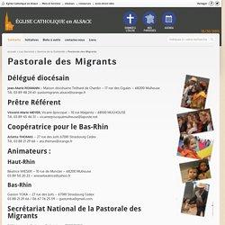 Pastorale des Migrants - Diocèse de Strasbourg
