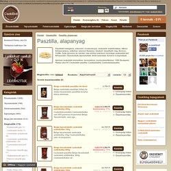 Pasztilla, alapanyag - Csokoládé bolt