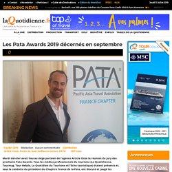 Les Pata Awards 2019 décernés en septembre