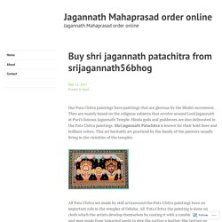 Buy shri jagannath patachitra from srijagannath56bhog – Jagannath Mahaprasad order online