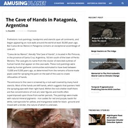 The Cave of Hands in Patagonia, Argentina