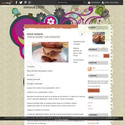 patate burgers - ninou62500