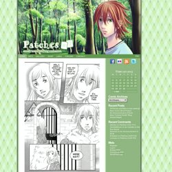 Patches - An Online Shoujo Style Romance Comic