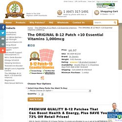 B12 Patches - Vitamin B12 Patch