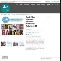 Ebook Eisblume Mantel / Parka // MYO STOFFE Online Shop für Patchworkstoffe, elastische Stoffe & mehr!