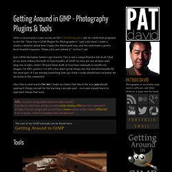 Getting Around in GIMP - Photography Plugins & Tools