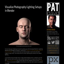 patdavid.net: Visualize Photography Lighting Setups in Blender
