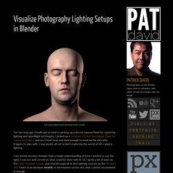 patdavid.net: Visualize Photography Lighting Setups in Blender