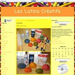 Pâte à sel colorée - Les Lutins Créatifs