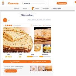 Pâte à crêpes : Recette de Pâte à crêpes