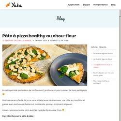 Pâte à pizza healthy au chou-fleur