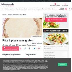 Pâte à pizza sans gluten, facile et pas cher