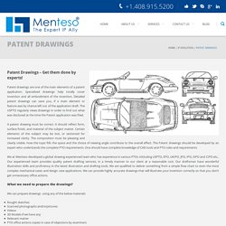 Patent drawing services