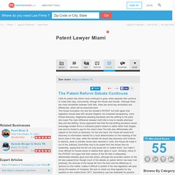 Patent Lawyer Miami in Miami, FL 33134