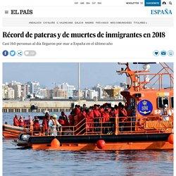 Récord de pateras y de muertes de inmigrantes en 2018