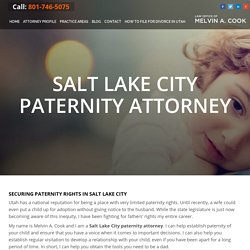 Build Healthy Relationship with the Advice of Paternity Attorney Salt Lake City