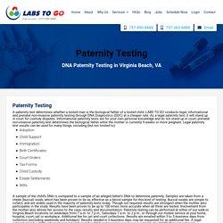 Prenatal Paternity Test Virginia