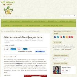 Pâtes aux noix de Saint Jacques facile