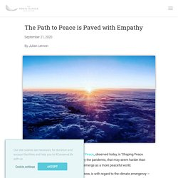 The Path To Peace Is Paved With Empathy