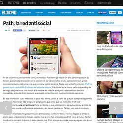 Path, la red antisocial