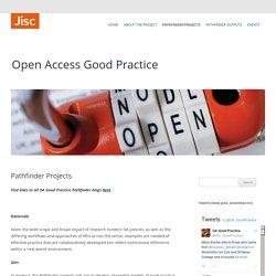 Open Access Good Practice