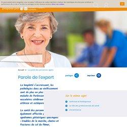 Santé des personnes âgées, pathologies dues au vieillissement