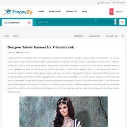 Pakistani Salwar Kameez - ShoppyZip