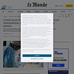 Covid-19 en France: près de 4900 patients en réanimation, le pic de la 2e vague presque atteint