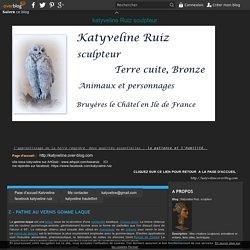 Z - PATINE AU VERNIS GOMME LAQUE - Katyveline Ruiz, sculpteur