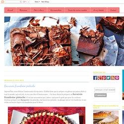 Bavarois framboise pistache