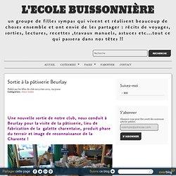 Sortie à la pâtisserie Beurlay - L'Ecole Buissonnière