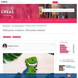 Pâtisserie créative : Dinocake marbré - Cultura