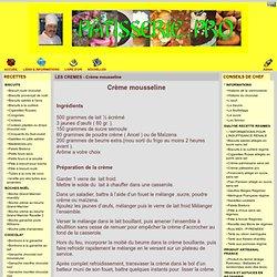 Pâtisserie . Pro - LES CREMES - Crème mousseline